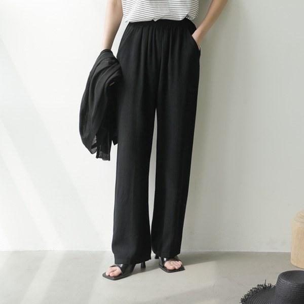 [P] Beggs亚麻直筒短裤P_P4212